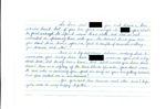 Letter to Lise Fredette